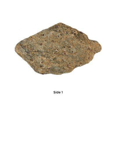 Garnet in schist